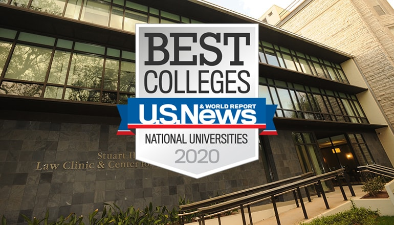 Loyola New Orleans Law Clinic ranked among the best by U.S. News and World Report